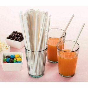 Straight Drinking Straws (7.75 Inch x 0.21 Inch)